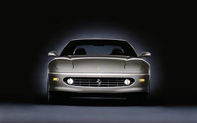 2001 Ferrari 456M GT wallpaper thumbnail.