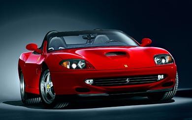 2001 Ferrari 550 Barchetta wallpaper thumbnail.