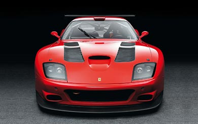 2004 Ferrari 575 GTC wallpaper thumbnail.