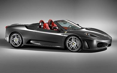 2005 Ferrari F430 Spider wallpaper thumbnail.