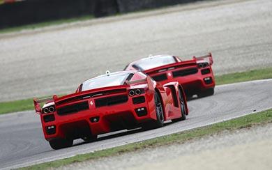 2005 Ferrari FXX wallpaper thumbnail.