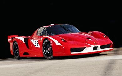 2007 Ferrari FXX Evoluzione wallpaper thumbnail.