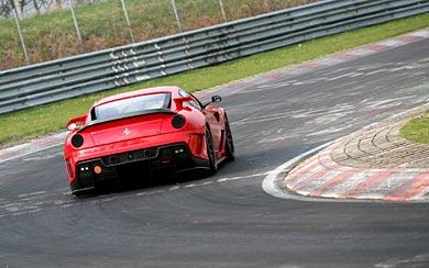 2009 Ferrari 599XX wallpaper thumbnail.