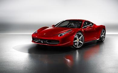 2010 Ferrari 458 Italia Wallpapers Wsupercars Wsupercars