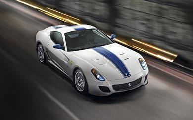 2010 Ferrari 599 GTO wallpaper thumbnail.