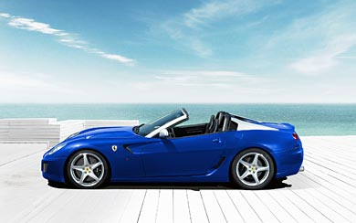 2011 Ferrari 599 SA Aperta wallpaper thumbnail.