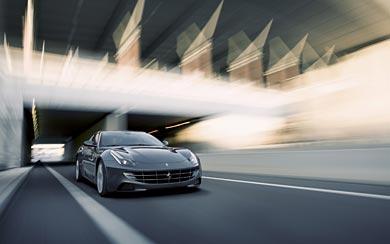 2012 Ferrari FF wallpaper thumbnail.