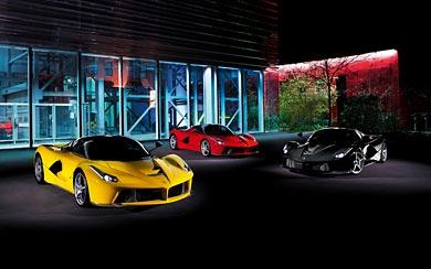 2014 Ferrari LaFerrari wallpaper thumbnail.