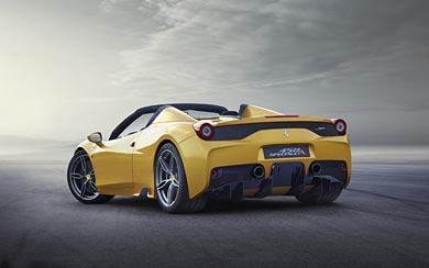 2015 Ferrari 458 Speciale A wallpaper thumbnail.