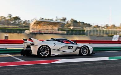 2015 Ferrari FXX K wallpaper thumbnail.