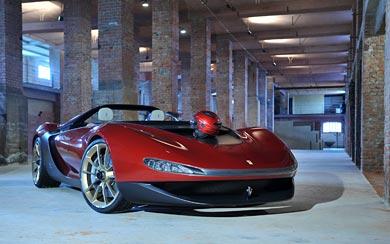2015 Ferrari Sergio wallpaper thumbnail.