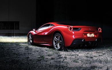2016 Ferrari 488 GTB wallpaper thumbnail.