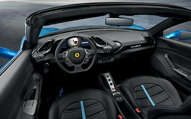 2016 Ferrari 488 Spider wallpaper thumbnail.