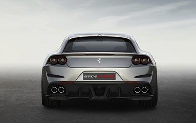 2017 Ferrari GTC4 Lusso wallpaper thumbnail.