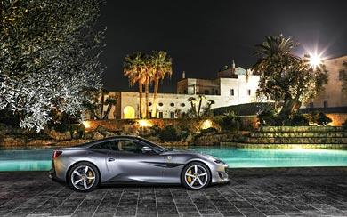 2018 Ferrari Portofino wallpaper thumbnail.