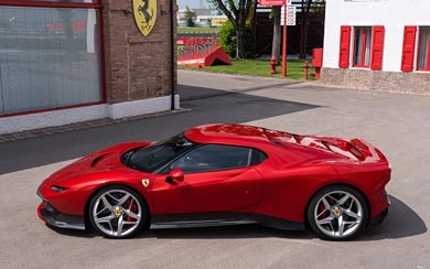2018 Ferrari SP38 wallpaper thumbnail.