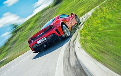 2019 Ferrari 488 Pista wallpaper thumbnail.