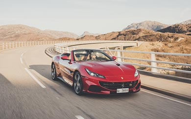 2021 Ferrari Portofino M wallpaper thumbnail.