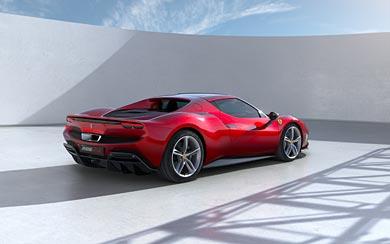 2022 Ferrari 296 GTB wallpaper thumbnail.