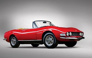 1966 Fiat Dino Spider wallpaper thumbnail.