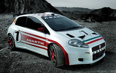 2007 Fiat Abarth Grande Punto S2000 wallpaper thumbnail.