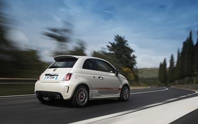 2009 Fiat Abarth 500 wallpaper thumbnail.