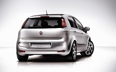 2009 Fiat Punto Evo wallpaper thumbnail.