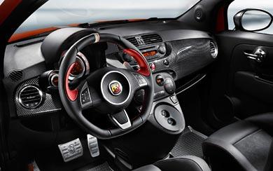 2010 Fiat Abarth 695 Tributo Ferrari wallpaper thumbnail.
