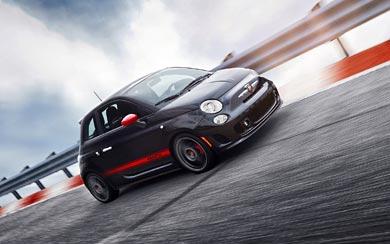 2012 Fiat 500 Abarth wallpaper thumbnail.