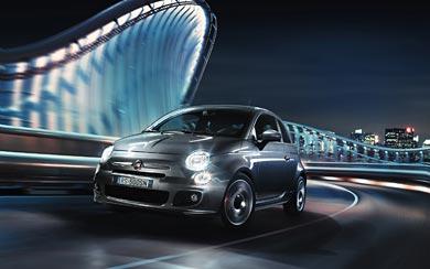 2013 Fiat 500S wallpaper thumbnail.