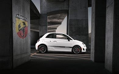 2013 Fiat 500C Abarth wallpaper thumbnail.