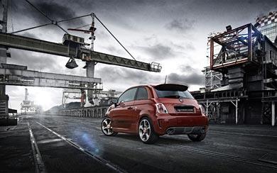 2014 Fiat Abarth 595 wallpaper thumbnail.