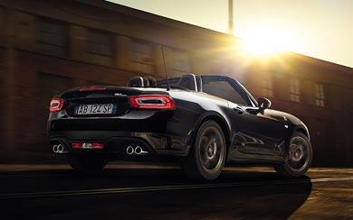 2017 Fiat 124 Spider Abarth wallpaper thumbnail.