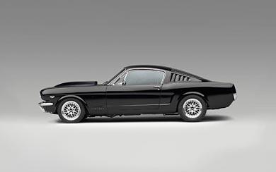 1965 Ford Mustang Fastback wallpaper thumbnail.