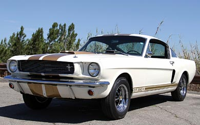 1966 Ford Shelby Mustang GT350H wallpaper thumbnail.