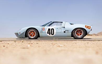 1968 Ford GT40 Le Mans wallpaper thumbnail.