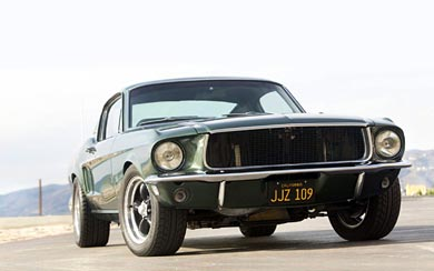 1968 Ford Mustang GT 390 wallpaper thumbnail.