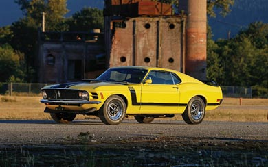 1970 Ford Mustang Boss 302 wallpaper thumbnail.