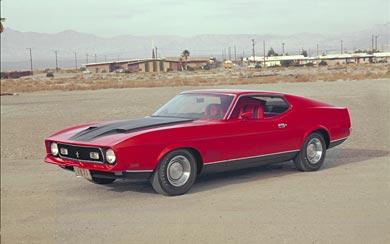 1971 Ford Mustang Mach 1 wallpaper thumbnail.