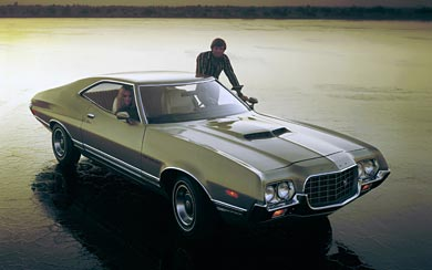 1972 Ford Gran Torino wallpaper thumbnail.