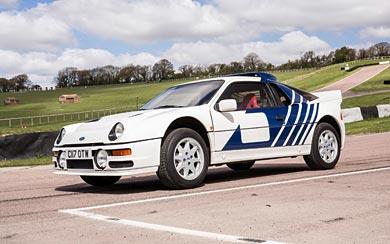 1984 Ford RS200 wallpaper thumbnail.