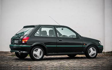 1990 Ford Fiesta RS Turbo wallpaper thumbnail.