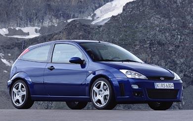2002 Ford Focus RS wallpaper thumbnail.