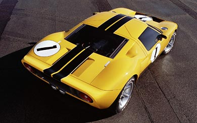 2002 Ford GT40 Concept wallpaper thumbnail.