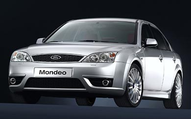 2002 Ford Mondeo ST220 wallpaper thumbnail.