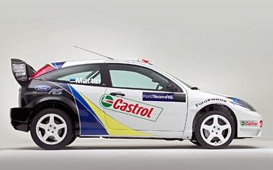 2003 Ford Focus RS WRC wallpaper thumbnail.