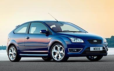 2005 Ford Focus ST wallpaper thumbnail.