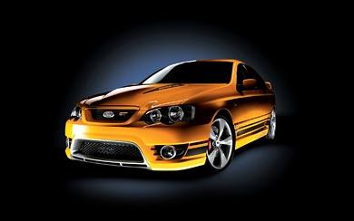 2006 Ford FPV BF MkII Series wallpaper thumbnail.
