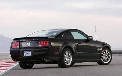2008 Ford Shelby Mustang GT500KR wallpaper thumbnail.