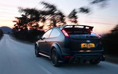 2010 Ford Focus RS500 wallpaper thumbnail.